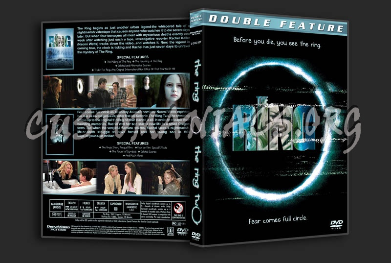The Ring Double Feature dvd cover