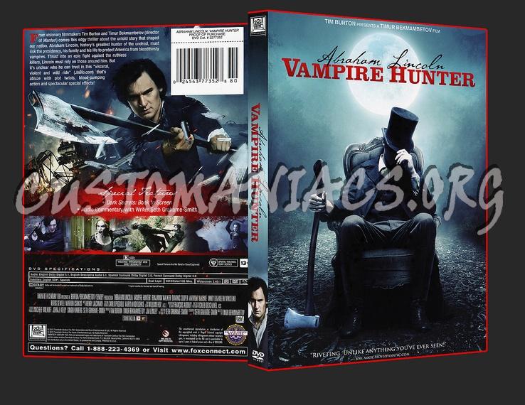 Abraham Lincoln Vampire Hunter dvd cover - DVD Covers ...