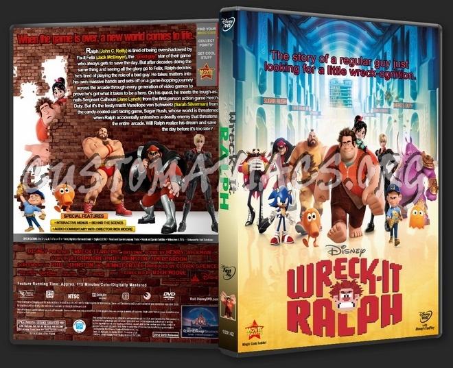 Wreck-it Ralph 2012 dvd cover