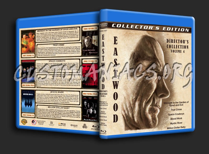 Clint Eastwood: Director's Collection - Volume 4 blu-ray cover