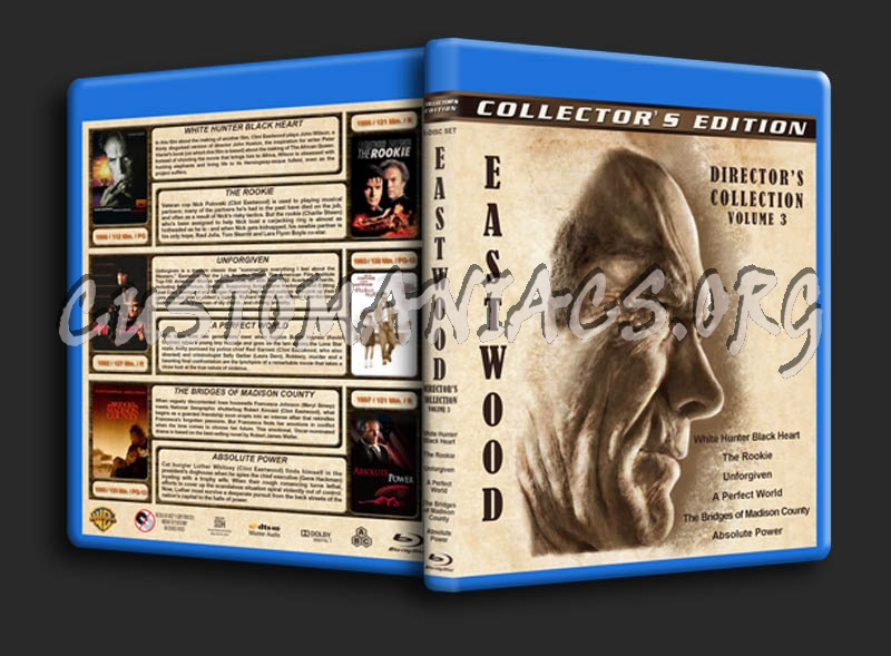 Clint Eastwood: Director's Collection - Volume 3 blu-ray cover