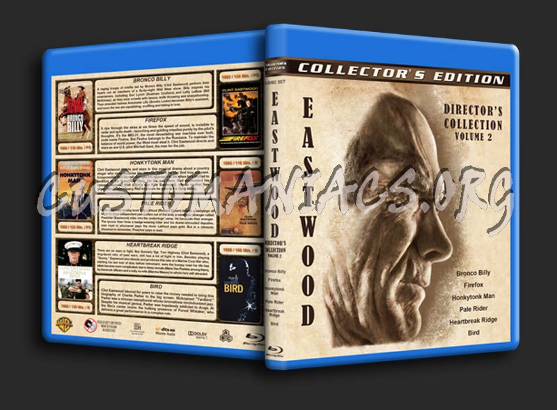 Clint Eastwood: Director's Collection - Volume 2 blu-ray cover