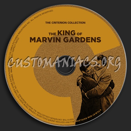 550 - The King Of Marvin Gardens dvd label