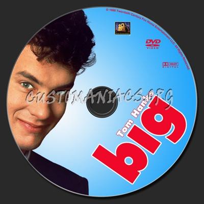 Big (1988) dvd label
