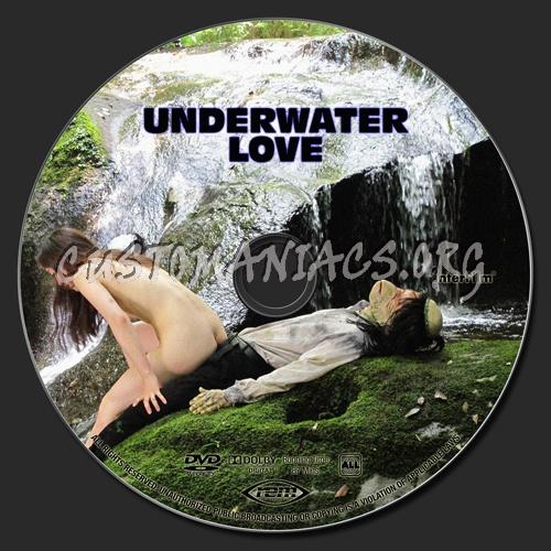 Underwater Love dvd label