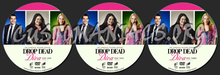 Drop dead diva season 2 dvd label dvd covers labels by customaniacs id 179751 free - Drop dead diva dvd ...