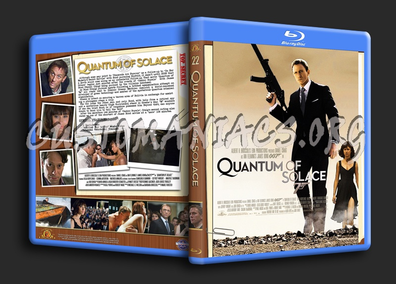 Quantum of Solace blu-ray cover