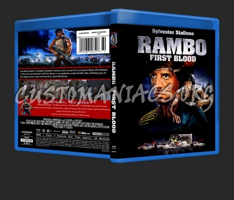 Rambo First Blood blu-ray cover