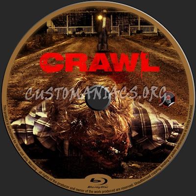 Crawl blu-ray label