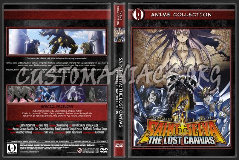 Anime Collection Saint Seiya Lost Canvas Complete OAV Collection dvd cover