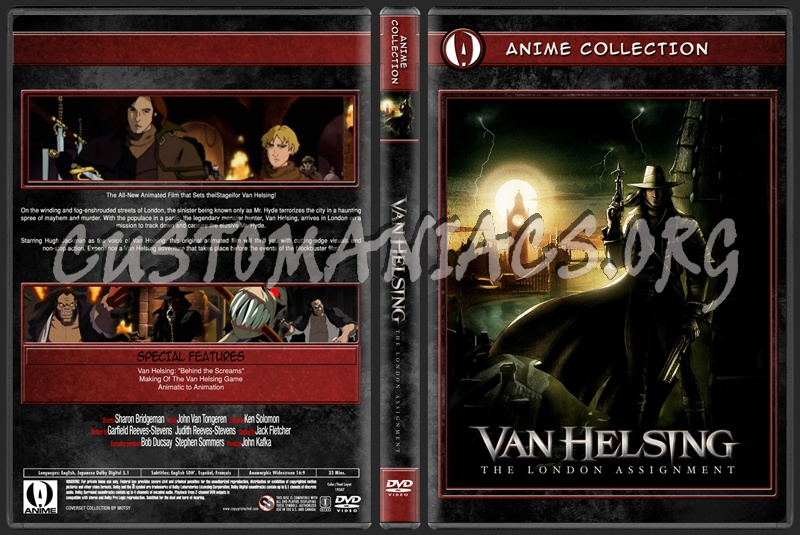 Van helsing dvd cover dvd covers & labels by customaniacs, id.