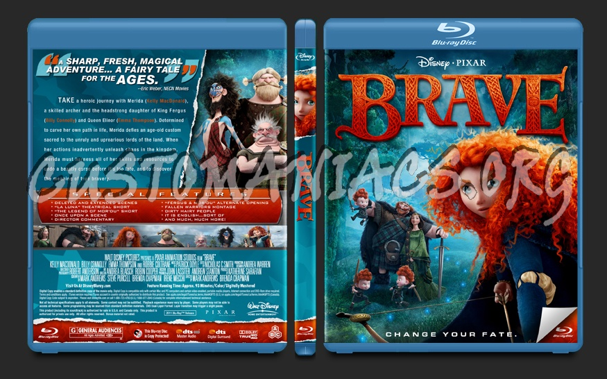 Brave blu-ray cover