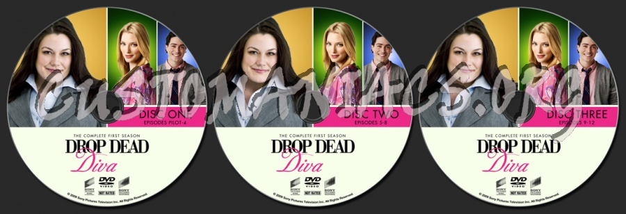 Drop dead diva season 1 dvd label dvd covers labels by customaniacs id 180034 free - Drop dead diva dvd ...