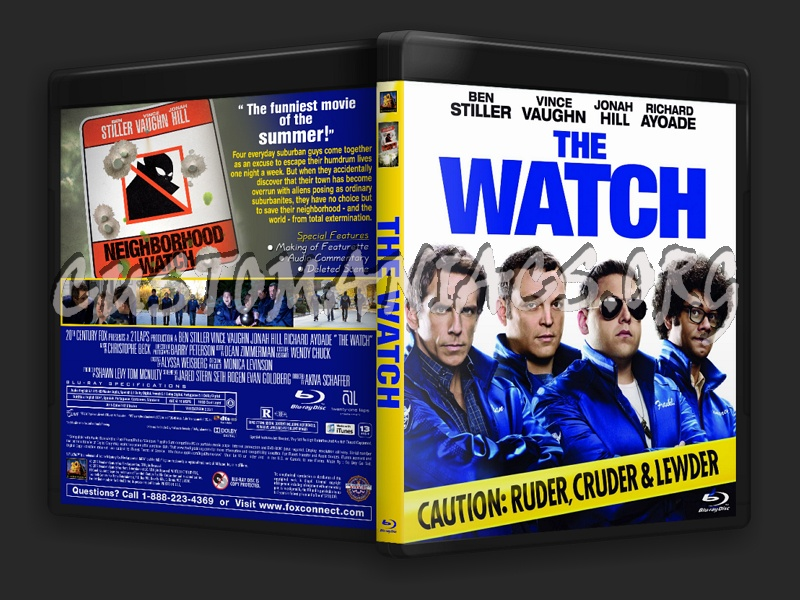 The Watch blu-ray cover