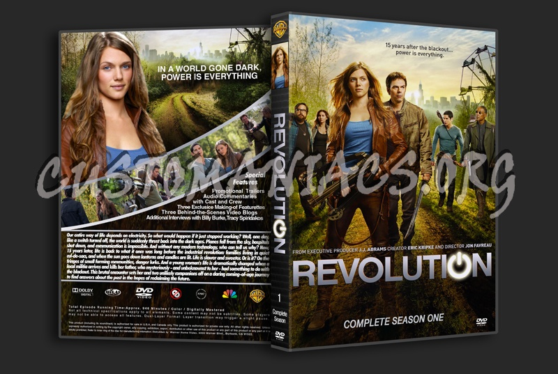 Revolution Season One dvd cover