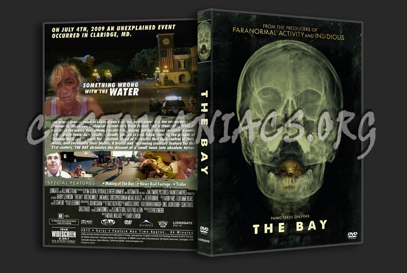 The Bay dvd cover