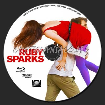 Ruby Sparks blu-ray label