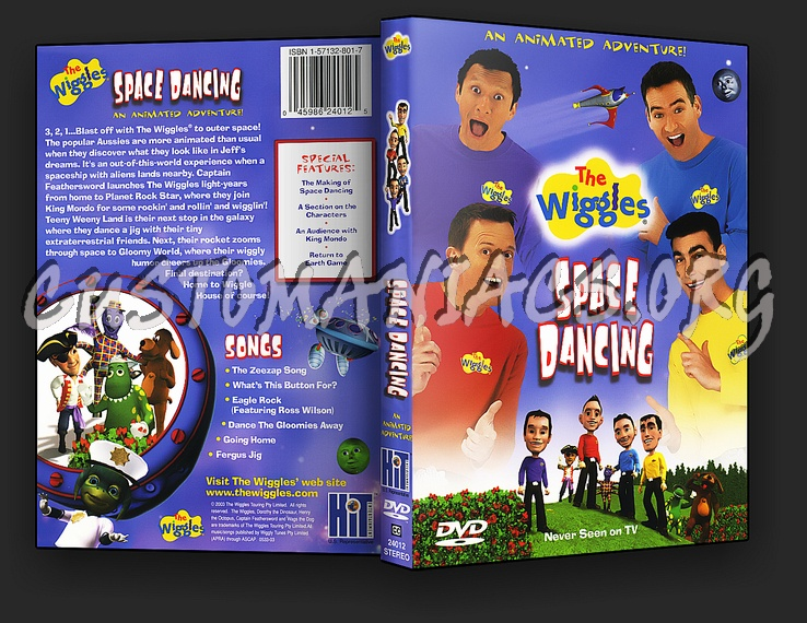 The Wiggles : Space Dancing Dvd Cover