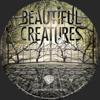 Beautiful Creatures dvd label