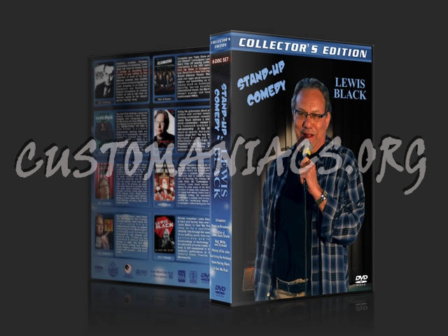 Stand-up Comedy: Lewis Black dvd cover