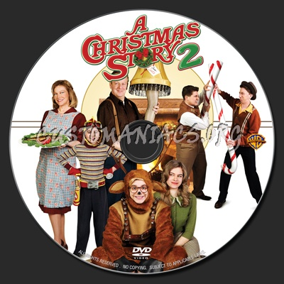 Christmas Story 2.A Christmas Story 2 2012 Dvd Label Dvd Covers Labels