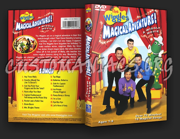 The Wiggles : Magical Adventure dvd cover