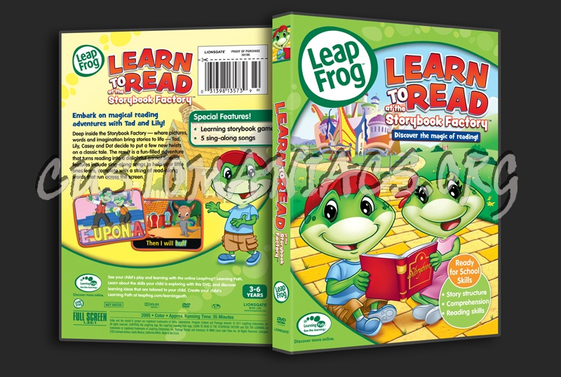 Leap Frog Learn To Read At The Storybook Factory Dvd