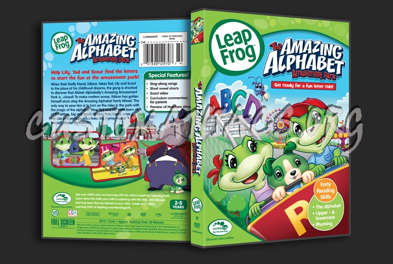 Sell leapfrog: the amazing alphabet amusement park (dvd, 2011.