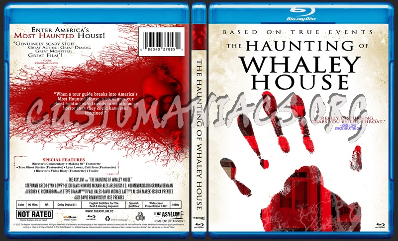 The Haunting of Whaley House blu-ray cover
