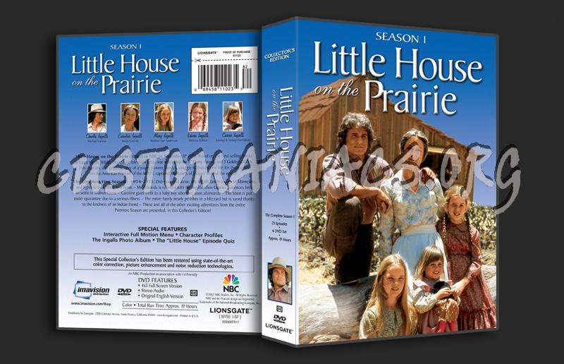 Little House on the Prairie Season 1 dvd cover