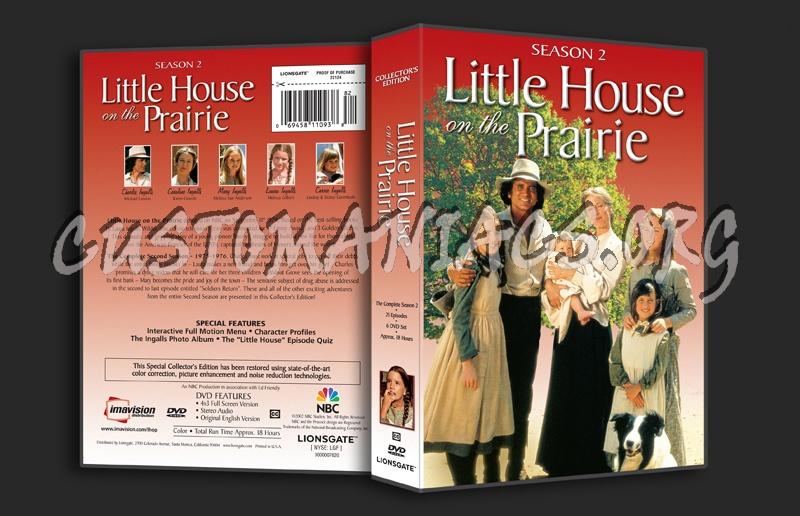 Little House on the Prairie Season 2 dvd cover