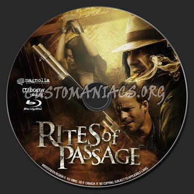 Rites of Passage blu-ray label