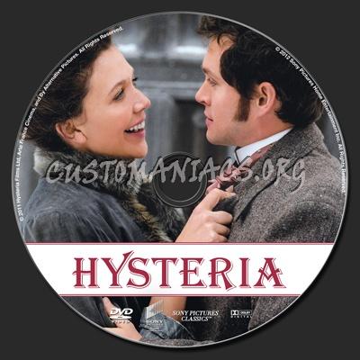 Hysteria dvd label