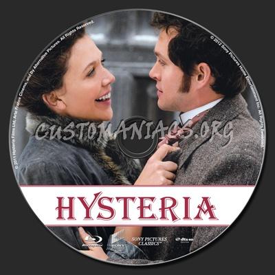 Hysteria blu-ray label