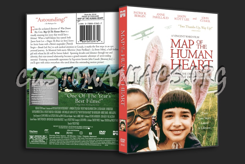 Map of the Human Heart dvd cover DVD Covers & Labels by