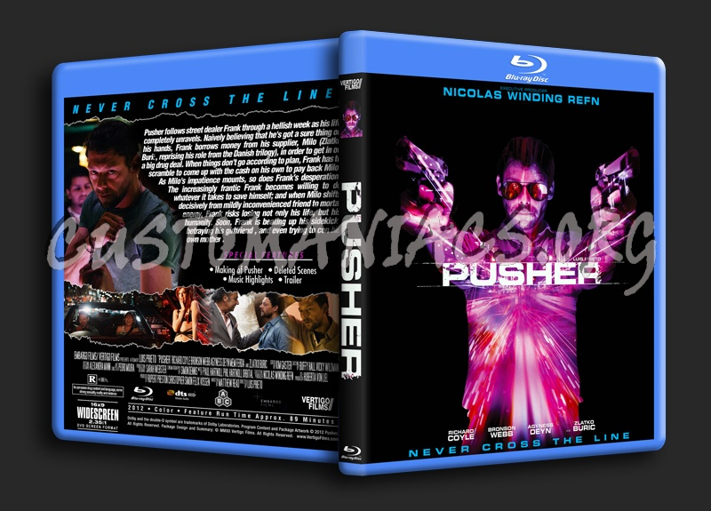 Pusher blu-ray cover