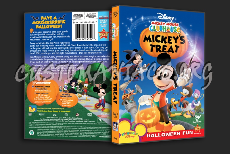 Mickey Mouse Clubhouse Mickey's Treat DVD