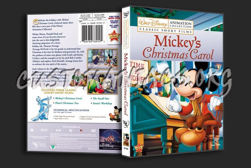 Mickeys Christmas Carol Dvd.Mickey S Christmas Carol Dvd Cover Dvd Covers Labels By
