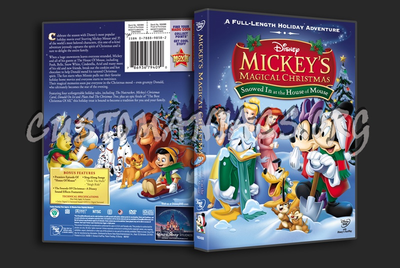 mickey mouse snowed in at the house of mouse dvd