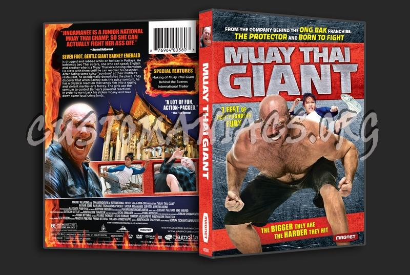 Muay Thai Giant dvd cover