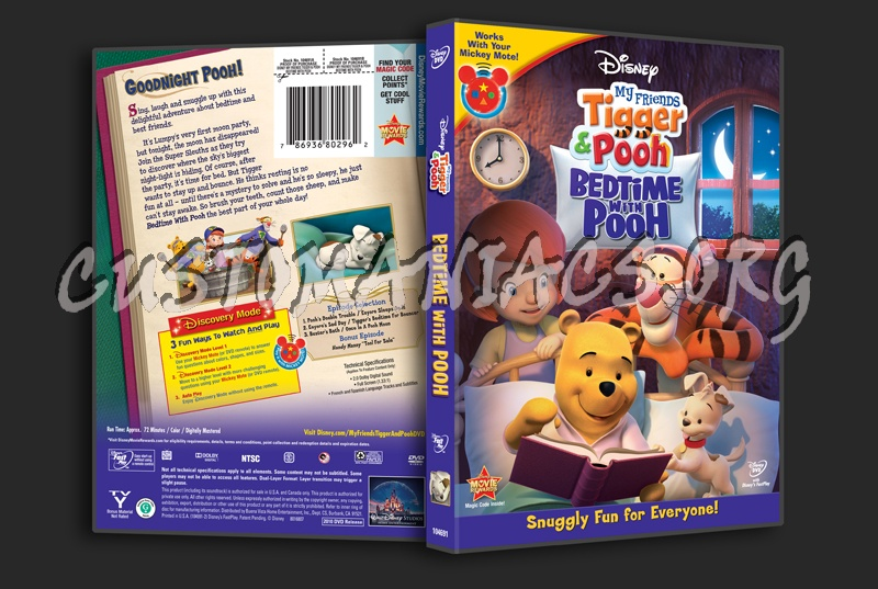 My friends tigger pooh bedtime with pooh dvd cover dvd covers my friends tigger pooh bedtime with pooh dvd cover thecheapjerseys Images