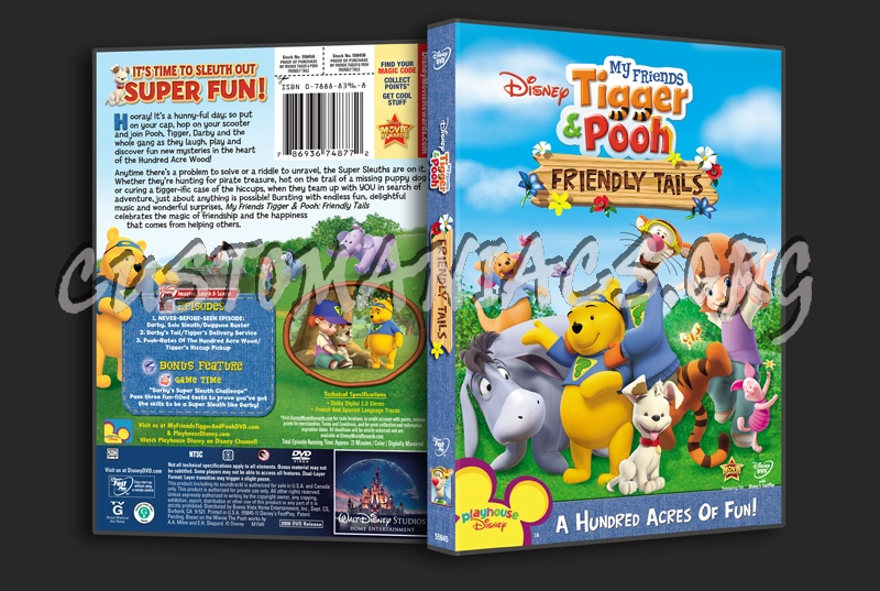 My friends tigger pooh friendly tails dvd cover dvd covers my friends tigger pooh friendly tails dvd cover altavistaventures Images