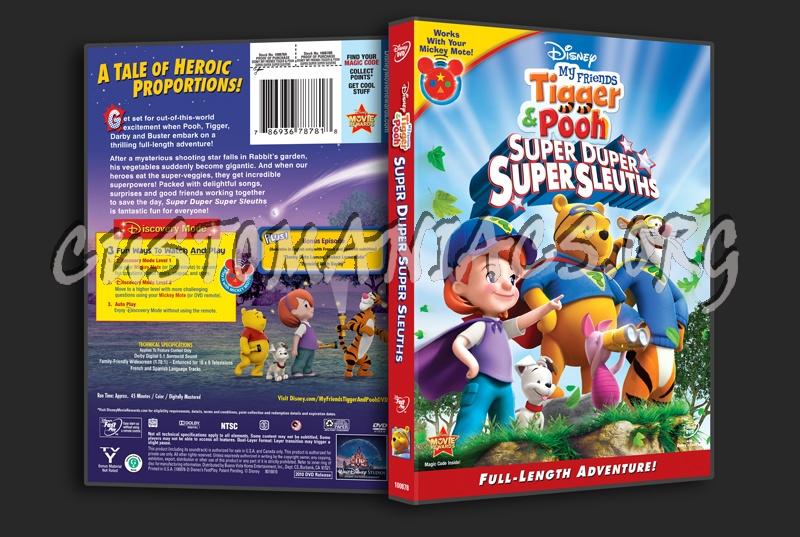 My friends tigger pooh super duper super sleuths dvd cover dvd my friends tigger pooh super duper super sleuths dvd cover thecheapjerseys Images