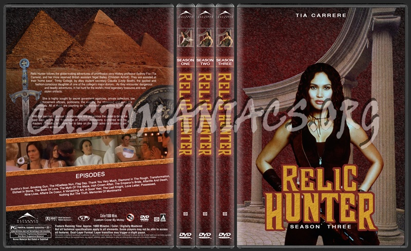 Relic Hunter Dvd Cover Dvd Covers Labels By Customaniacs Id
