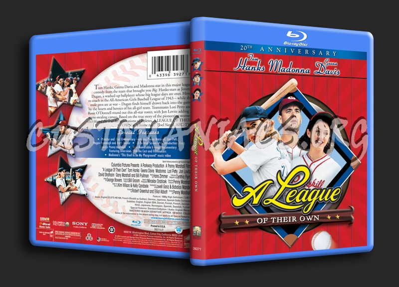 A League of Their Own blu-ray cover