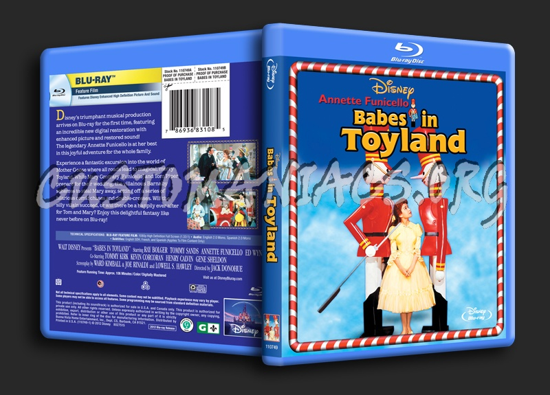 Babes in Toyland blu-ray cover