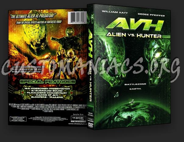 Alien vs. Hunter dvd cover