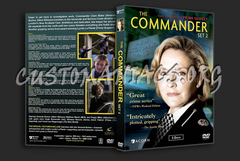 The Commander - Set 2 dvd cover