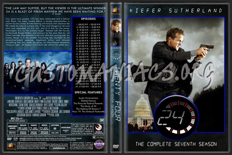 24 TV Collection dvd cover