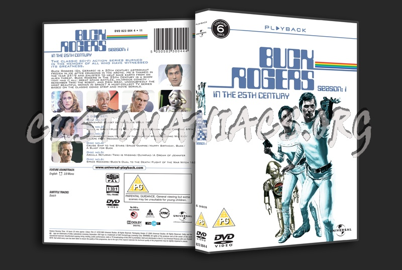Buck Rogers in the 25th Century Season 1 dvd cover
